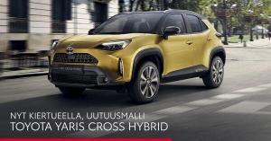 Yaris Cross -kiertue - Auto-Arita Oy