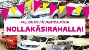 Kurkkaa vaihtoautomme https://www.autoarita.fi/ ja hyödynnä rahoitustarjouksemme. Vaihtoauton rahoitus nyt ilman käsirahaa! Tervetuloa kaupoille!