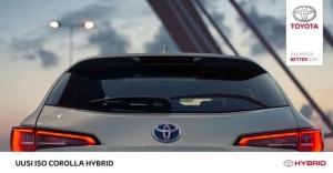 Uusi iso Corolla hybrid . Lue lisää https://www.autoarita.fi/yritys/ajankohtaista/uusi-iso-corolla-hybrid.html